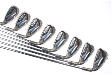 Ping G30 Irons With Regular Steel Ping Cfs Distance Shaft