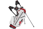 Sun Mountain 2015 H2NO Lite Stand Bag Sort Hvid Rød + Gratis Paraply