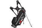 Sun Mountain 2015 H2NO Ultra-Lite Stand Bag Gunmetal Sort Rød + Gratis Paraply