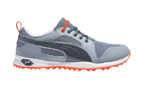Puma (UK 10) 2015 Bio Fly Mesh Golf Shoes Grey Red - SALE