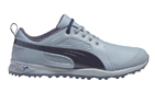 Puma (UK 11) 2015 Bio Fly Golf Shoes Grey Navy - SALE