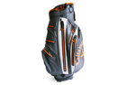 Callaway 2015 Aqua Dry Cart Bag Grau Orange Weiß + Gratis Handtuch