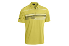 Mizuno 2015 Broken Stripe Polo Lime Light (M) - SALE