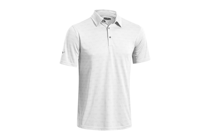 Mizuno 2016 Textured Polo White (L)