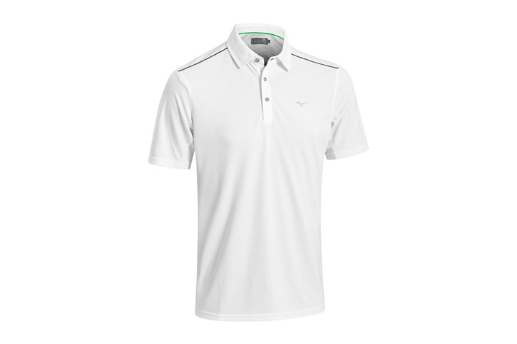Mizuno 2016 Plain Polo White (M)