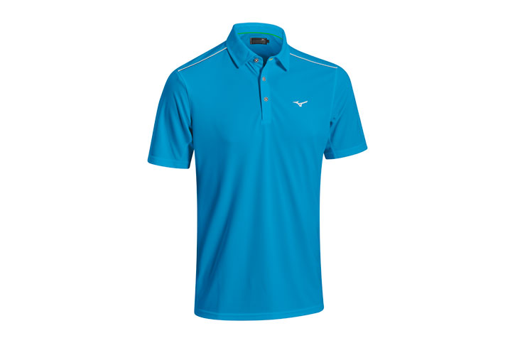 Mizuno 2016 Plain Polo Blue (M)