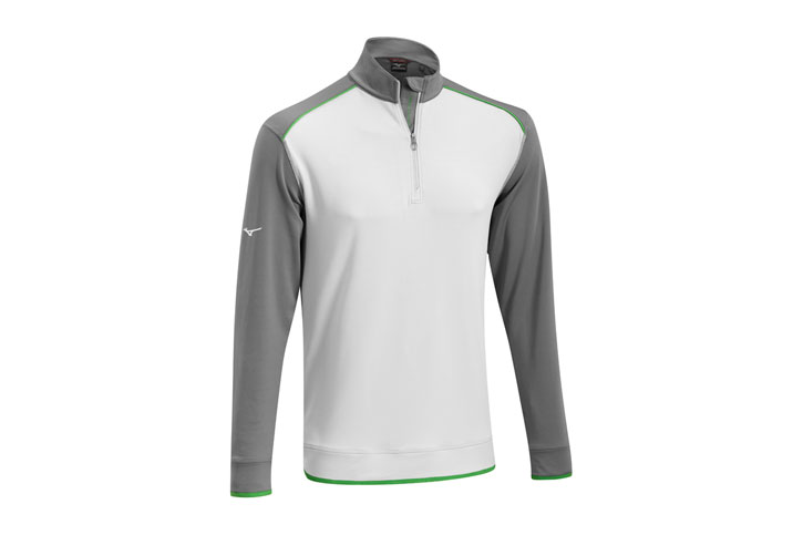 Mizuno 2016 Warmalite 1/4 Zip Sweater Grey (M)