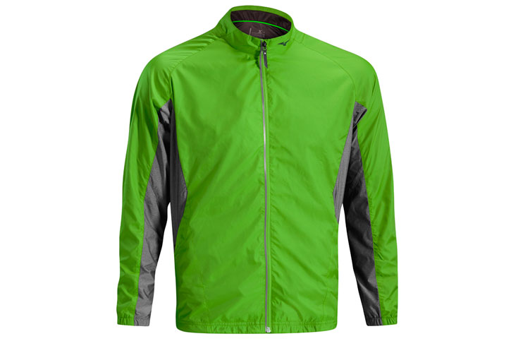 Mizuno 2016 Windproof Jacket Green Grey (L)