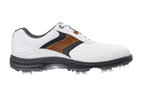 FootJoy (UK 7) 2016 Contour Golf Shoes White Brown - SALE