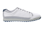 FootJoy (UK 7) 2016 Contour Casual Golf Shoes White Silver Navy - SALE