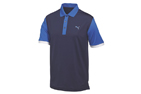 Puma 2015 Colourblock Polo Blue (XL) - SALE