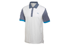 Puma 2015 Colourblock Polo White Grey (XL) - SALE