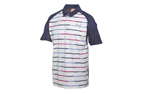 Puma 2015 GT Print Polo White Navy (L) - SALE