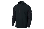 Nike 2014 Dri-Fit Wool Tech Protect Cover-Up Sweater Black X-Large (XL) - SALE