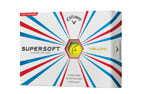 Callaway 2016 SuperSoft Golfballen 3PK Geel