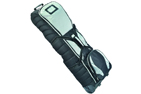 Deluxe Jumbo Roller Travel Cover Black