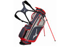 Mizuno 2018 BR-D4 Stand Bag Grey Red