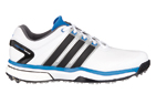 adidas (UK 11) 2015 adiPower Boost Golf Shoes White Blue - SALE
