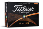 Titleist Pro V1 High Number Golfballen 3PK (36 Balls)