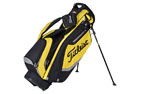 Titleist 2015 Lightweight Stand Bag Sort Gul