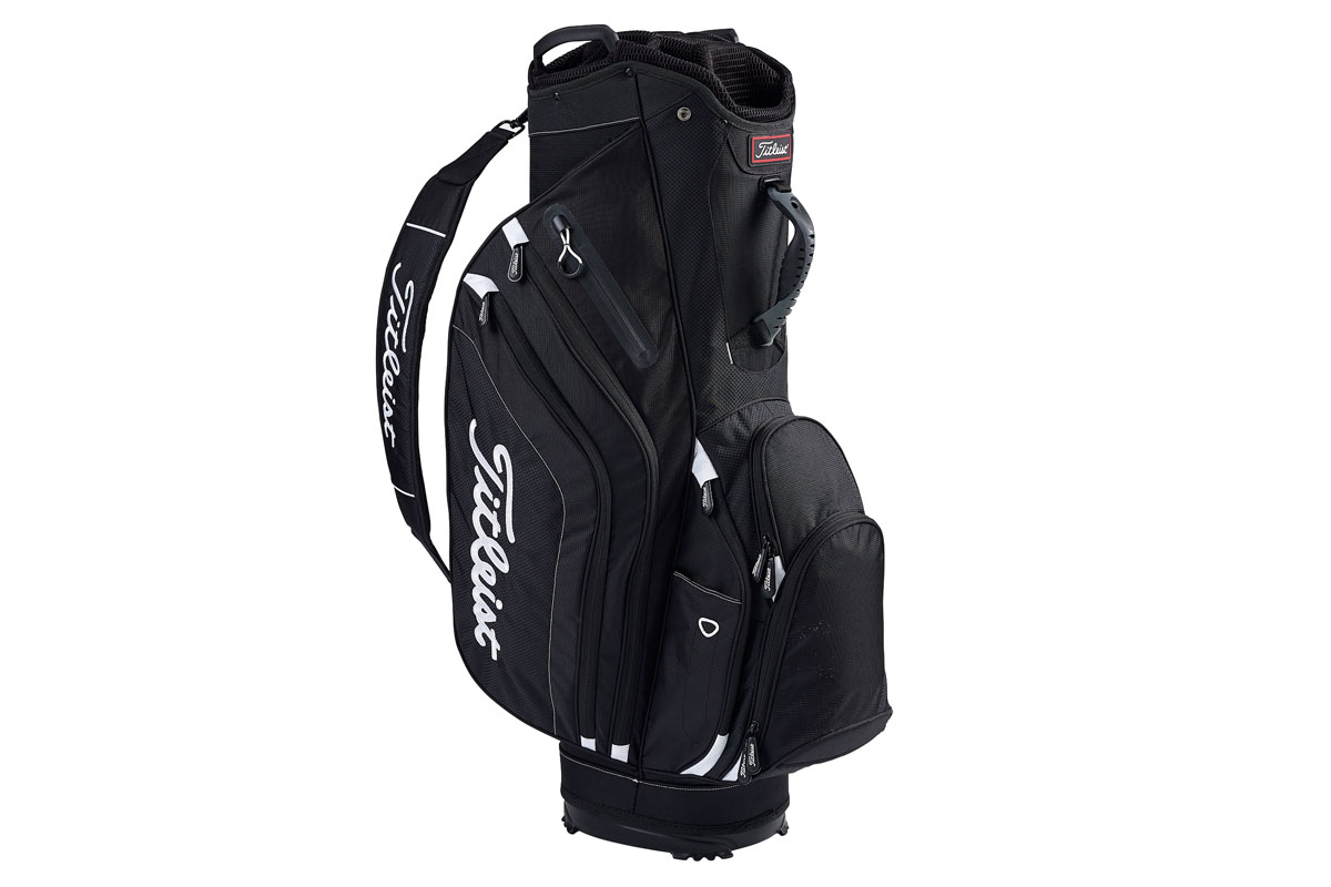 Titleist 2017 Lightweight Cart Bag Black White