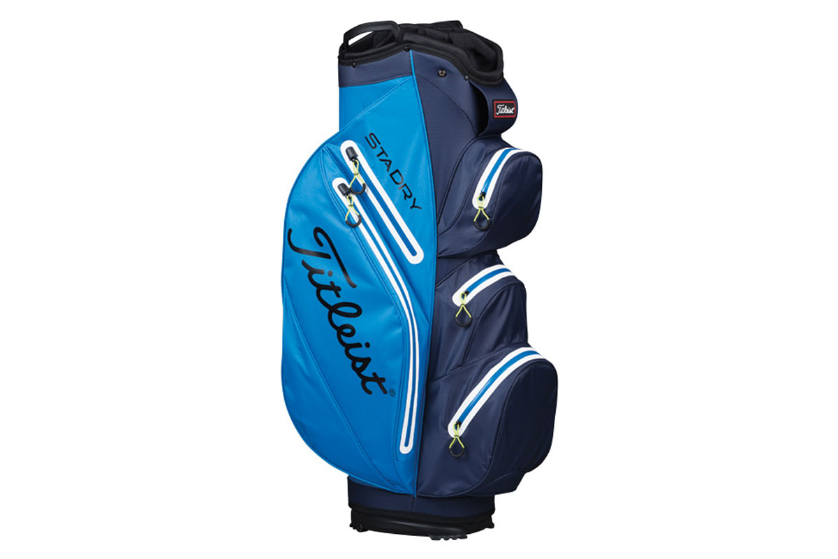 Titleist 2017 StaDry Cart Bag Blue Navy
