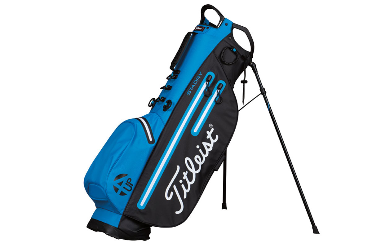 Titleist 2017 4UP StaDry Stand Bag Blue Black