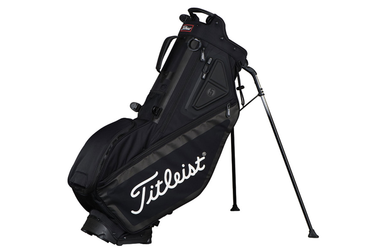 Titleist 2017 Players 5 Stand Bag Black