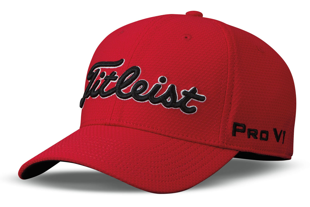 Titleist 2017 Players Deep Back Cap Red Black (S/M)