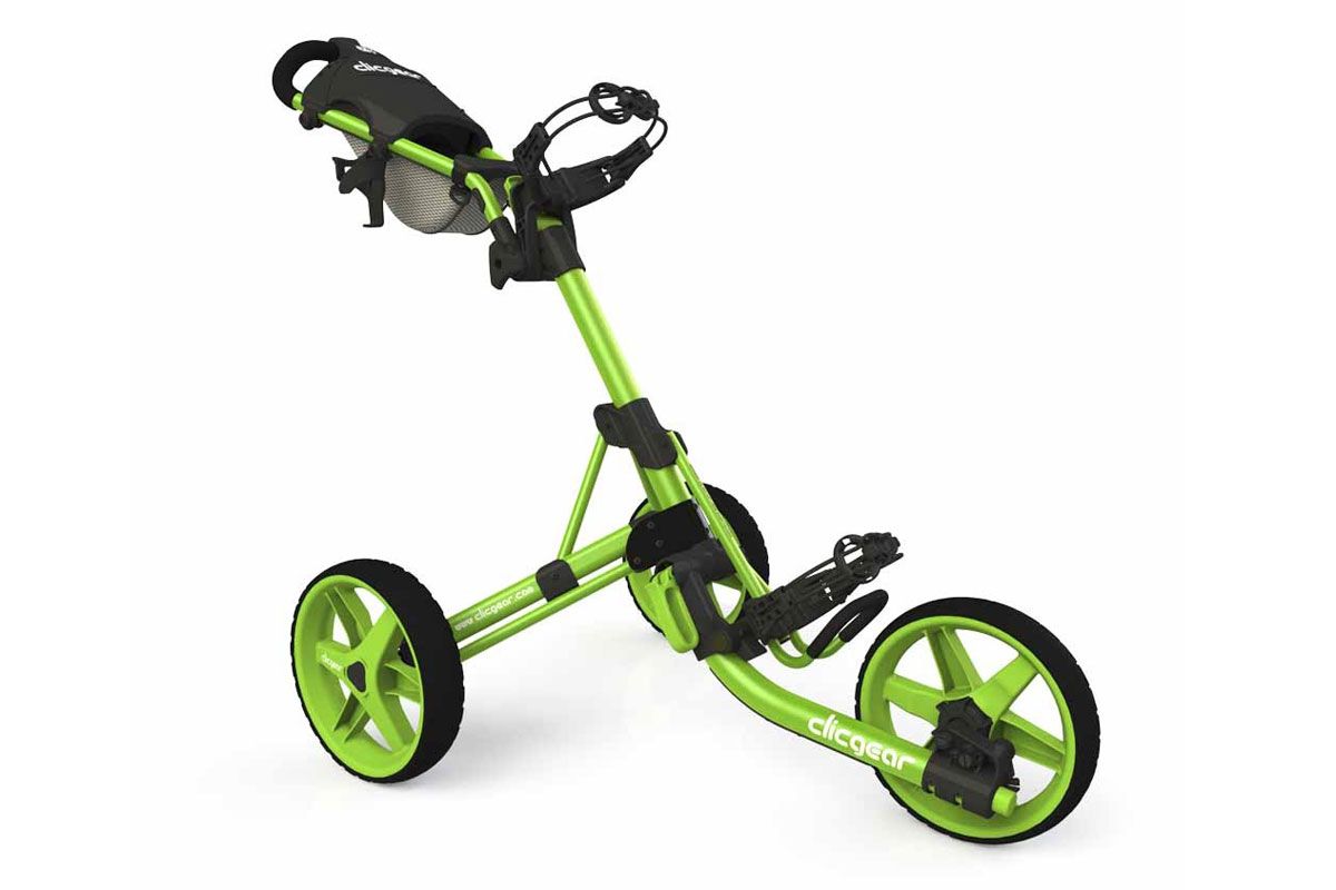 Clicgear 2017 3.5 Trolley Lime