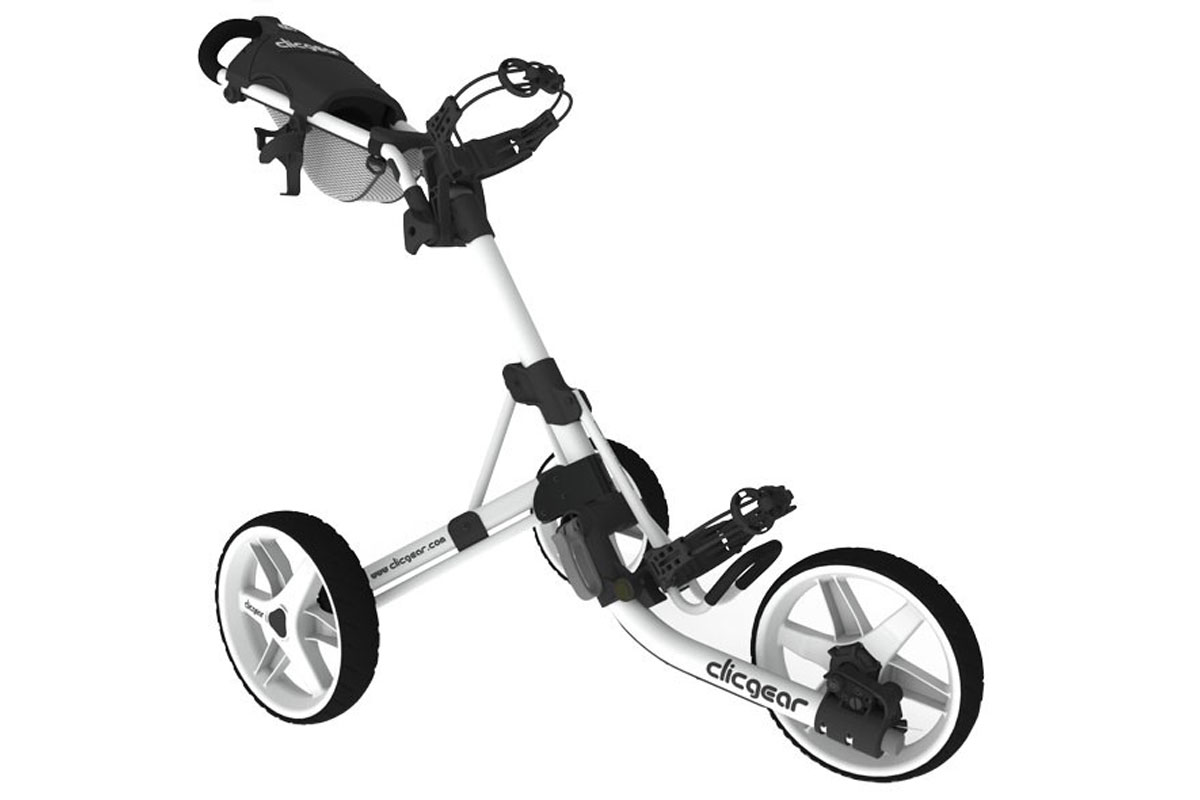 Clicgear 3.5+ Trolley Arctic Wit