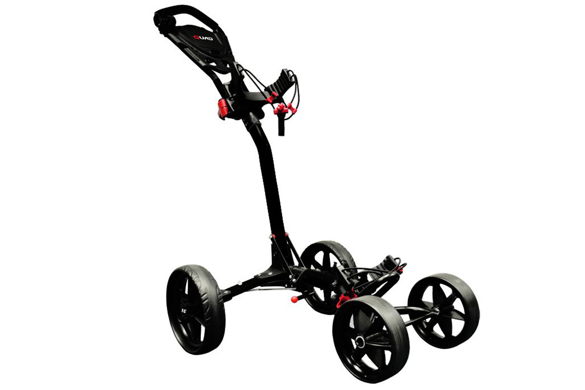 Ezeglide Compact Quad Trolley Black - RECONDITIONED