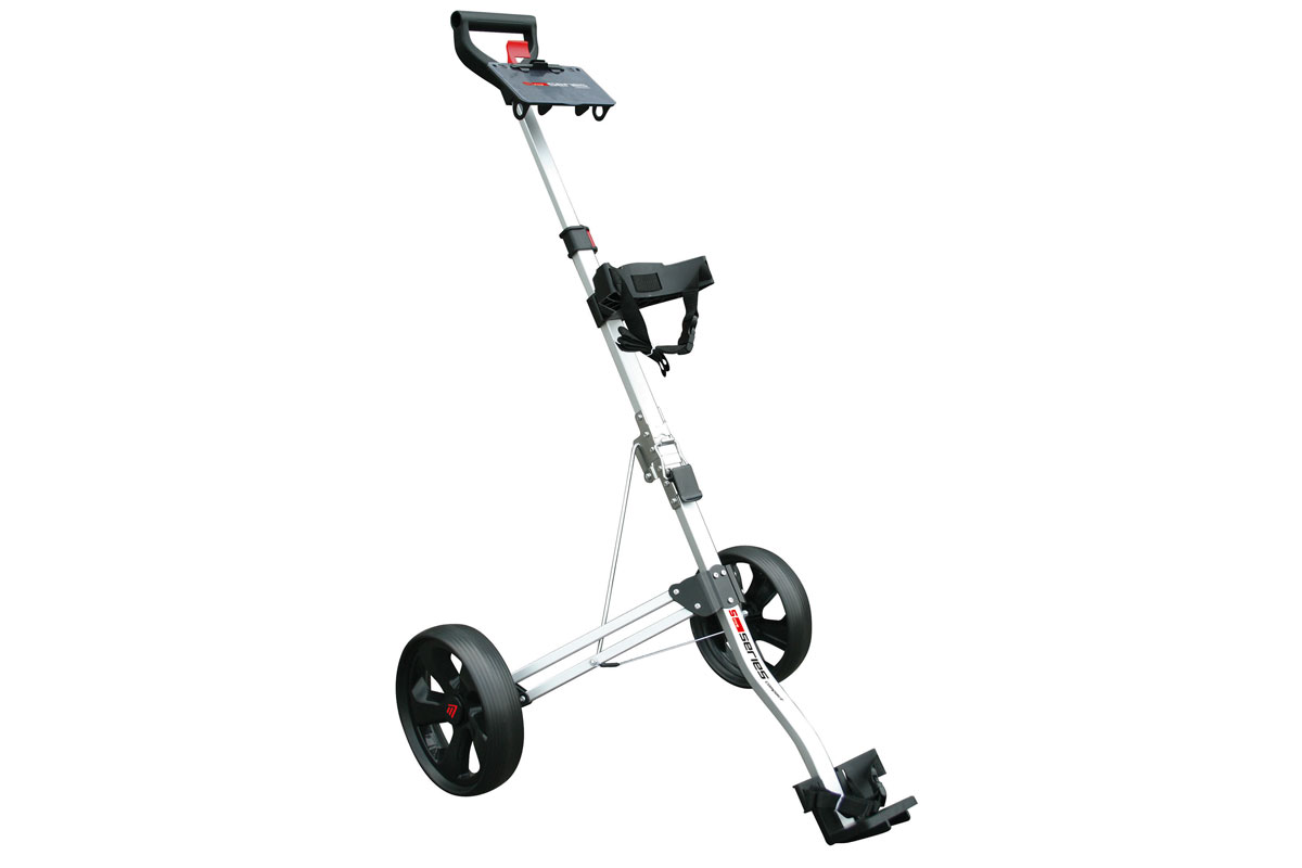 Masters 2017 5 Series Compact 2 Wheel Push Trolley Silver