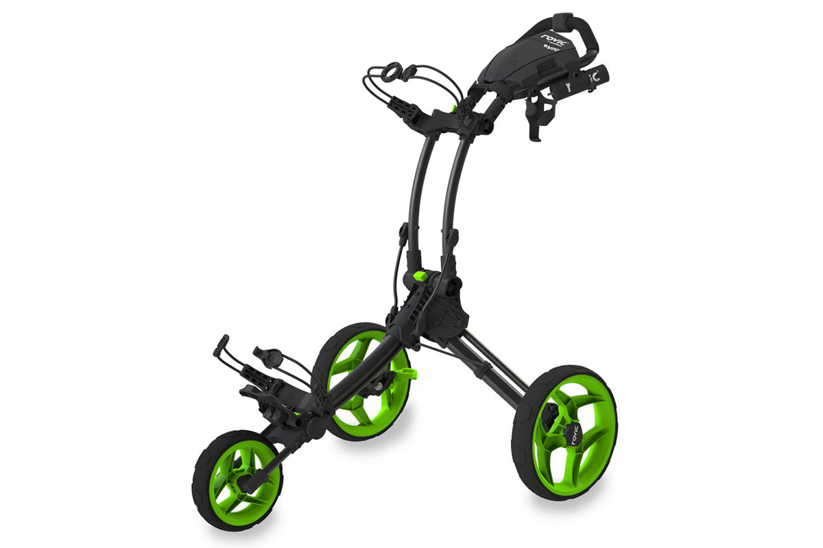 Clicgear 2017 RV1C Trolley Charcoal Lime