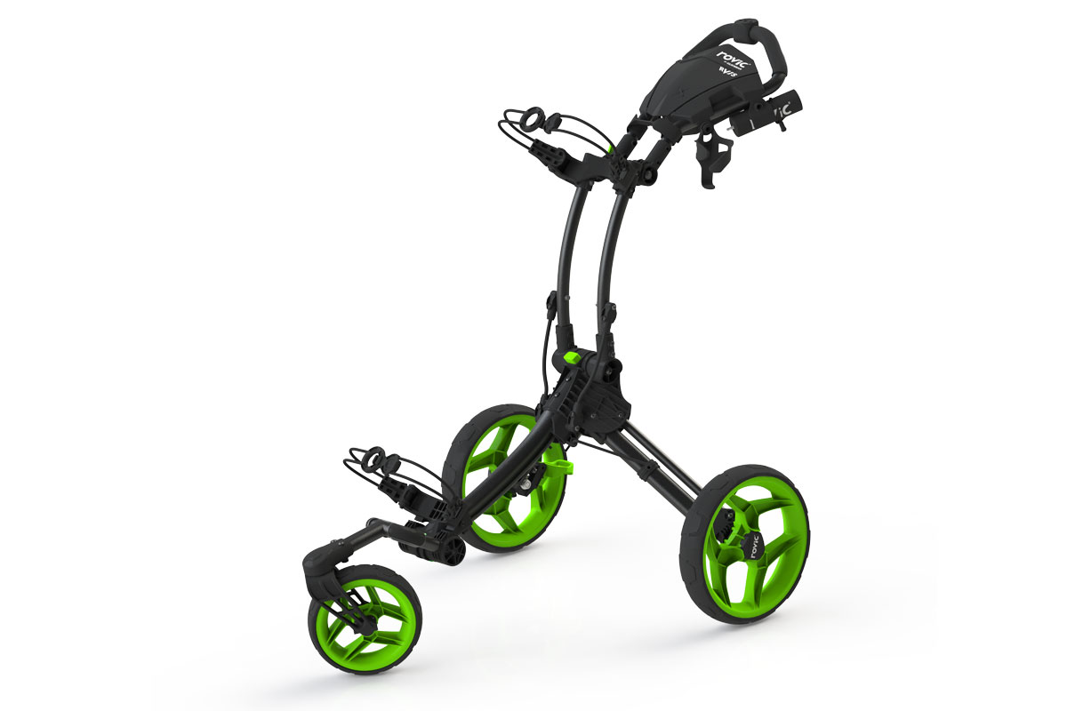 Clicgear 2017 RV1S Trolley Charcoal Lime