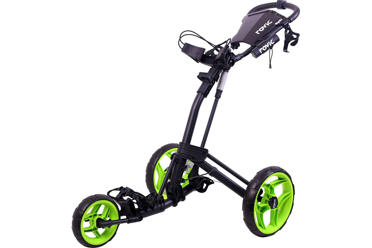 Clicgear 2017 RV2L Trolley Charcoal Lime