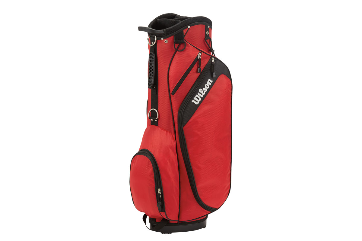 Wilson 2017 Profile Cart Bag Red
