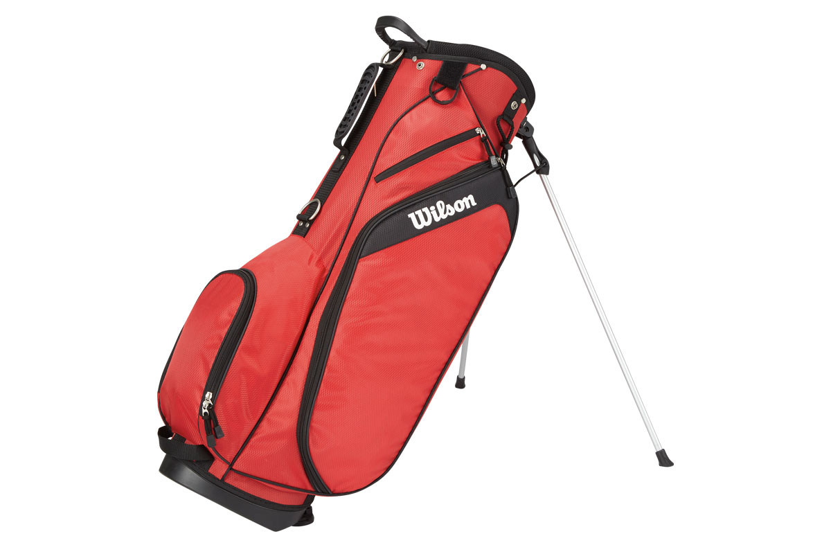 Wilson 2017 Profile Stand Bag Red