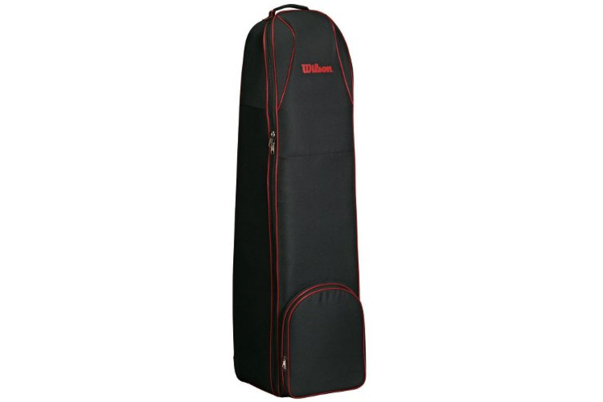 Wilson 2016 Wheeled Travel Cover Black Red