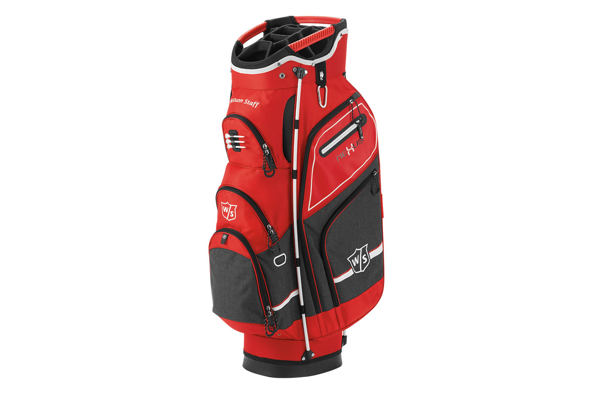 Wilson Staff 2017 Nexus 3 Cart Bag Red Black