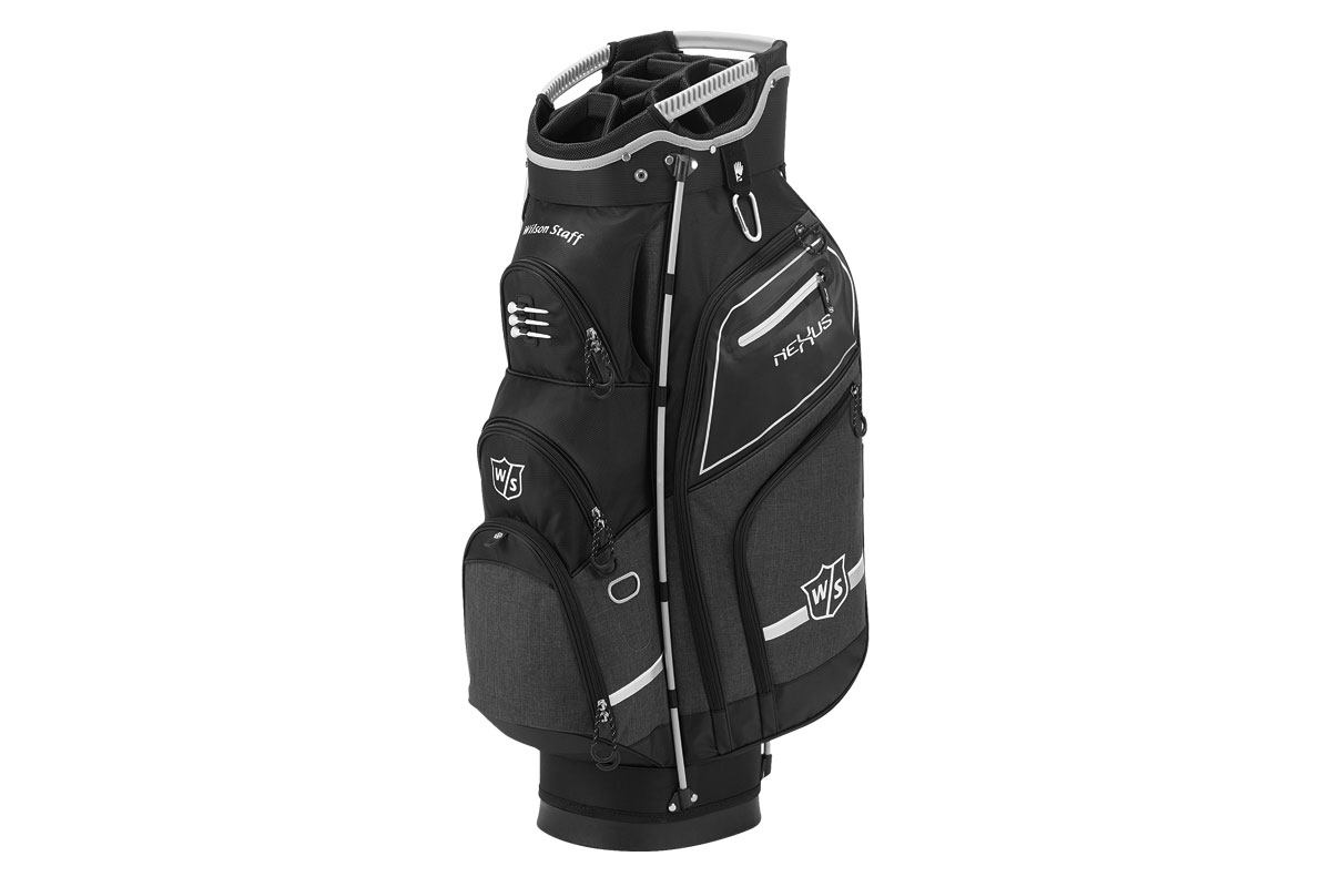 Wilson Staff 2017 Nexus 3 Cart Bag Black Silver