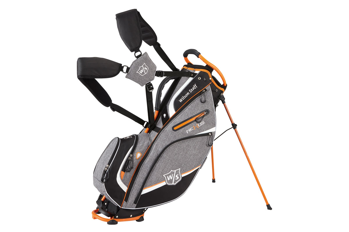 Wilson Staff 2017 Nexus 3 Stand Bag Grey Orange