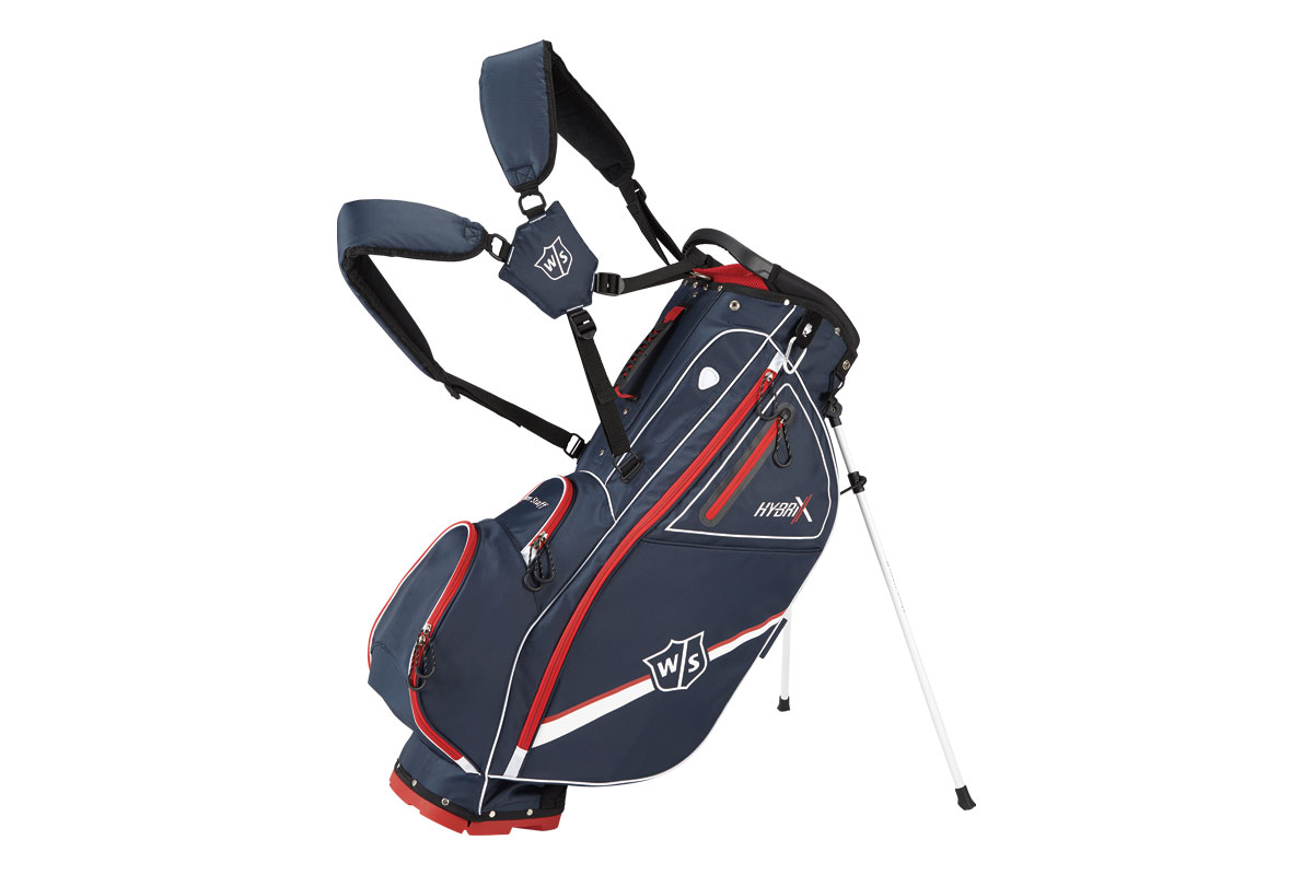 Wilson Staff 2017 Hybrix Stand Bag Navy Red