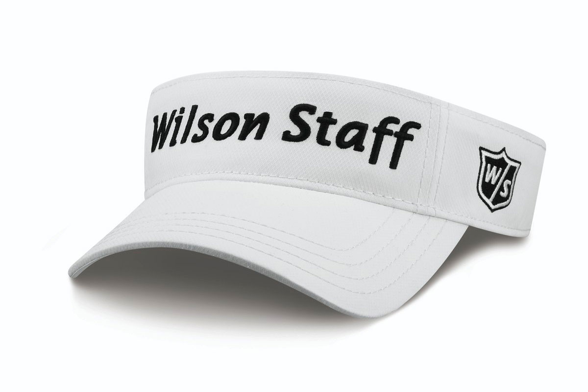 Wilson Staff 2016 Tour Visor White