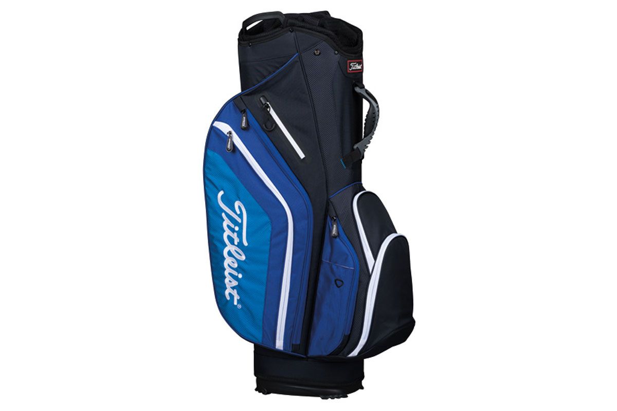Titleist 2017 Lightweight Cart Bag Black Blue White