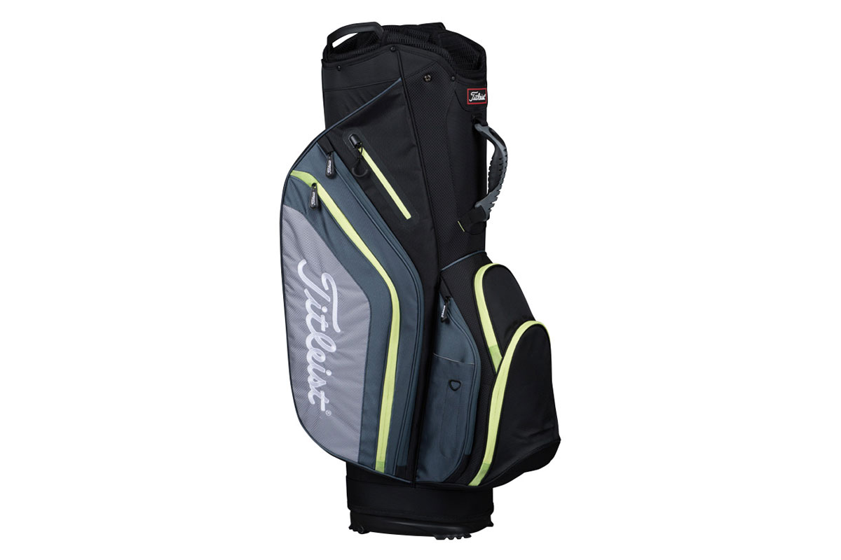 Titleist 2017 Lightweight Cart Bag Black Grey Lime