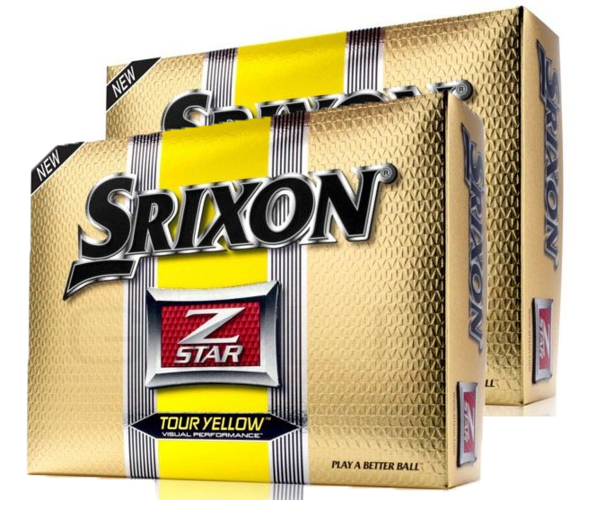 Srixon 2012 Z Star Tour Yellow x2