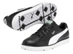 Puma 2013 Cyde Chaussures Golf Black White UK 8
