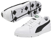 Puma 2013 Cyde Golf Shoes White Black UK 9