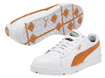 Puma 2013 Cyde Chaussures Golf Blanc Orange EUR 44.5